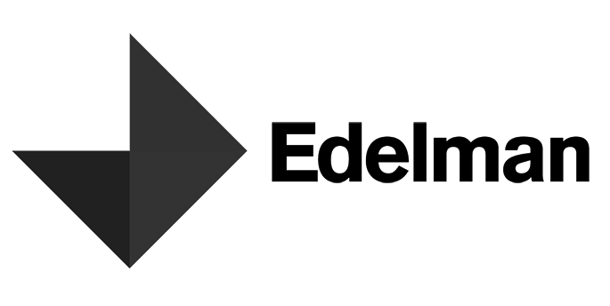 Edelman-Logo in schwarz-weiß