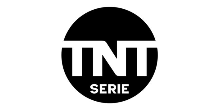 TNT Serie Logo in schwarz-weiß