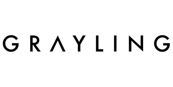 Grayling-Logo in schwarz-weiß