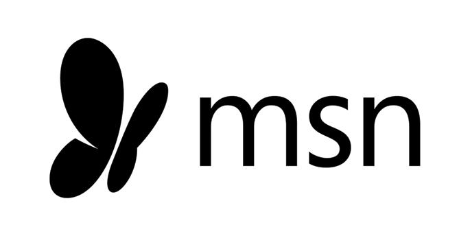 MSN-Logo in schwarz-weiß