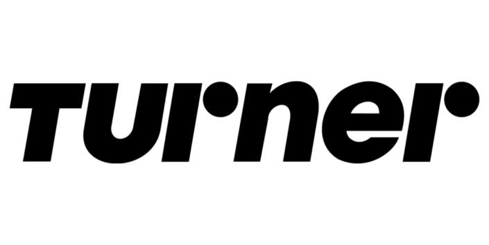 Turner-Logo in schwarz-weiß