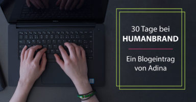 30 Tage als Humanbrandy
