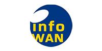 Logo: infoWAN Datenkommunikation GmbH