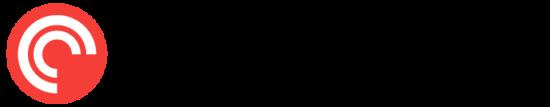 Neben dem Schriftzug Pocket Casts ist das dazugehörige Icon.
