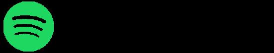 Neben dem Schriftzug Spotify ist das dazugehörige Icon.