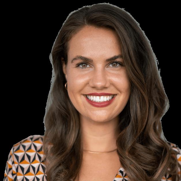 Eine Frau mit einem Lächeln
